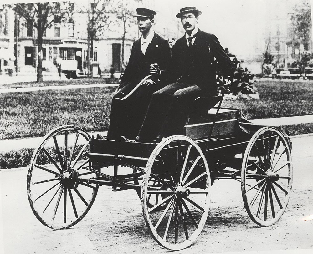Charles Brady King and Oliver E. Barthel, King runabout - 1896