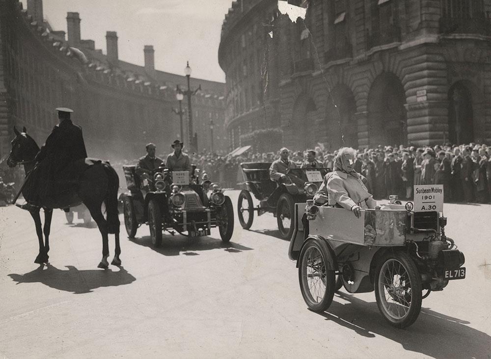 Sunbeam in London's Jubilee Motor Parade 1946