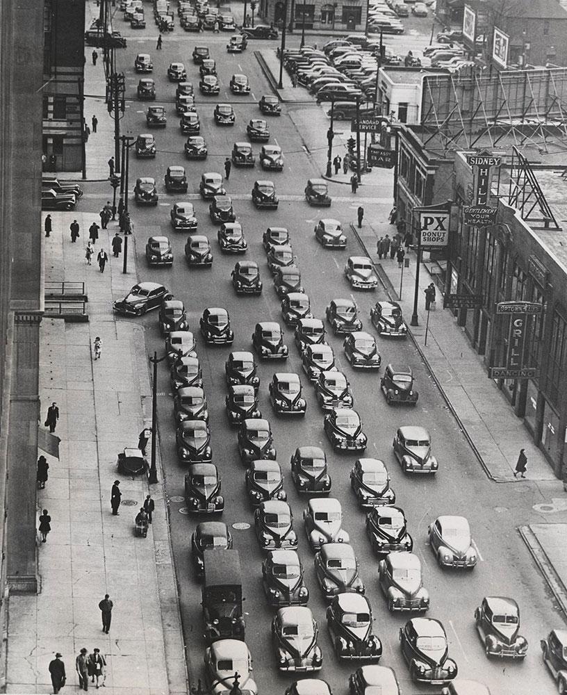 Detroit traffic jam