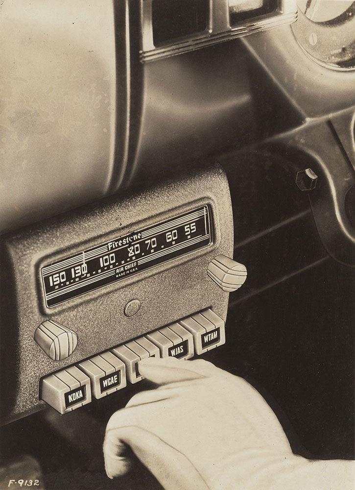 Firestone Push-Button Radio