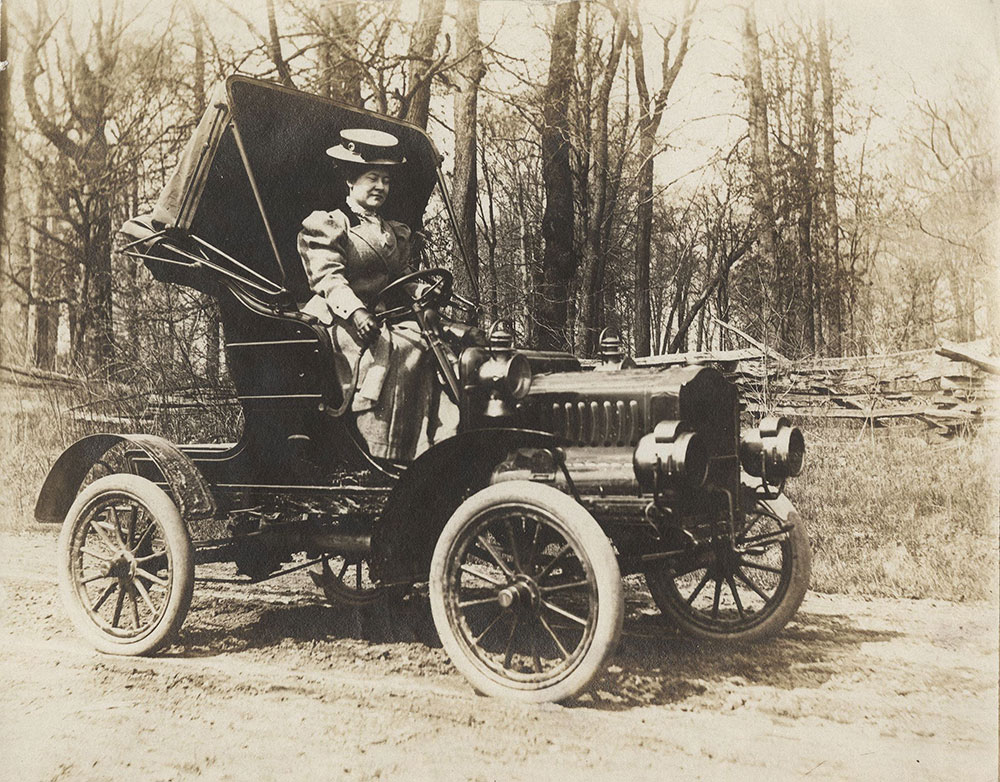 Lady Driving