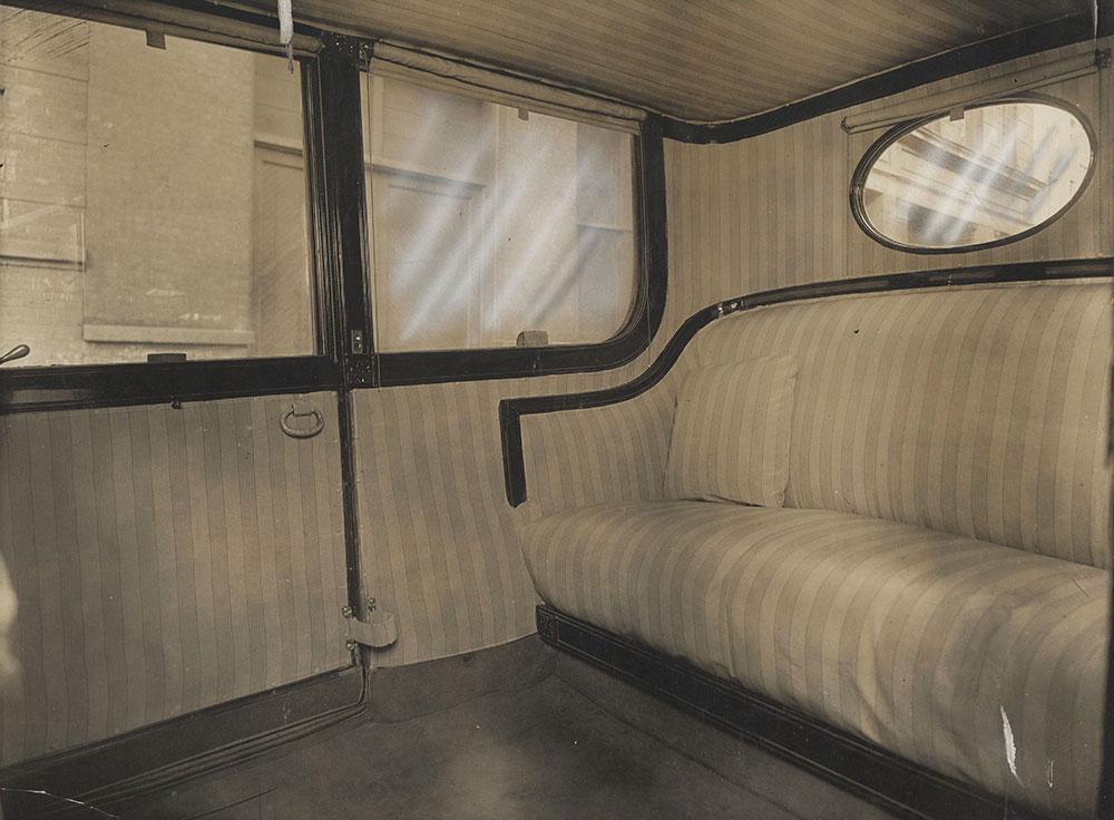 Inside of Luxury Car