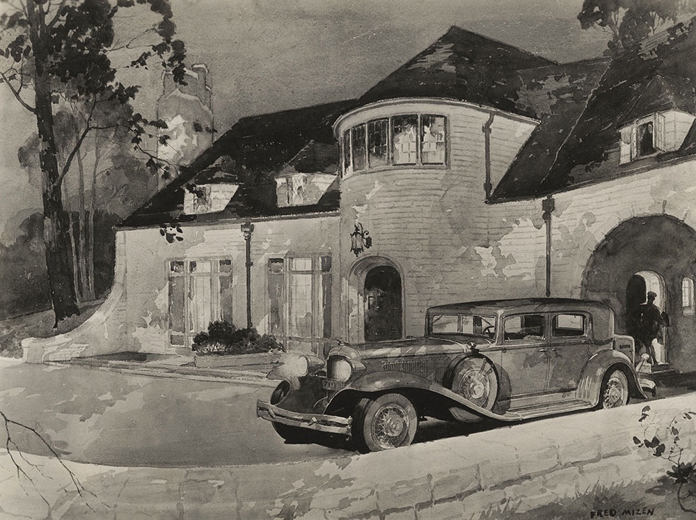 Car and House painting - Fred Mizen