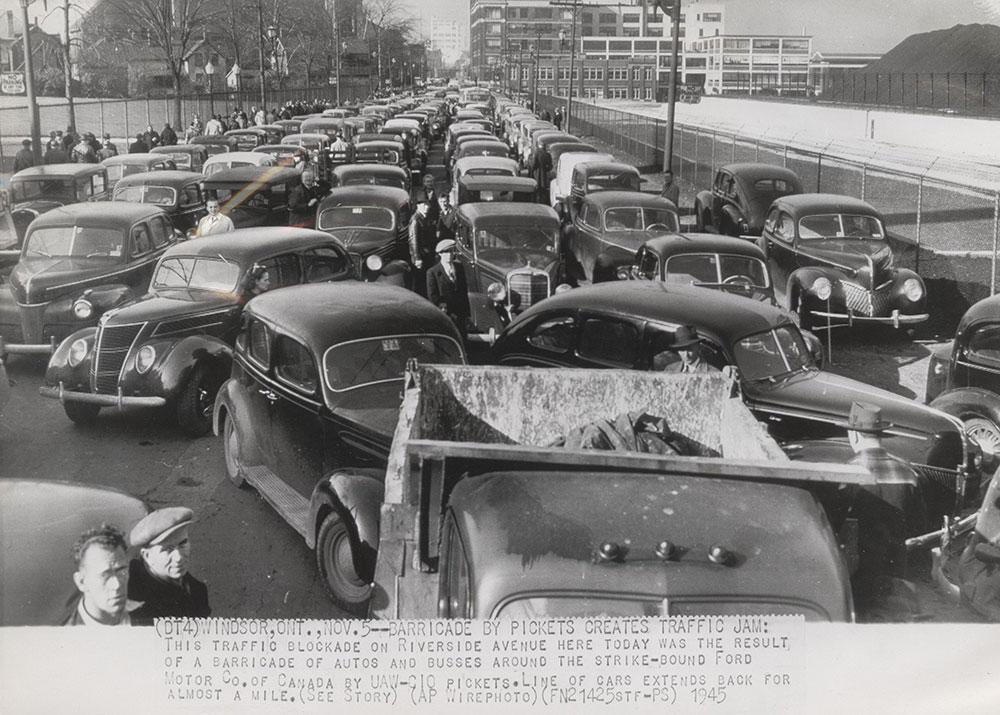Traffic Jam - Windsor, Ontario - Digital Collections - Free