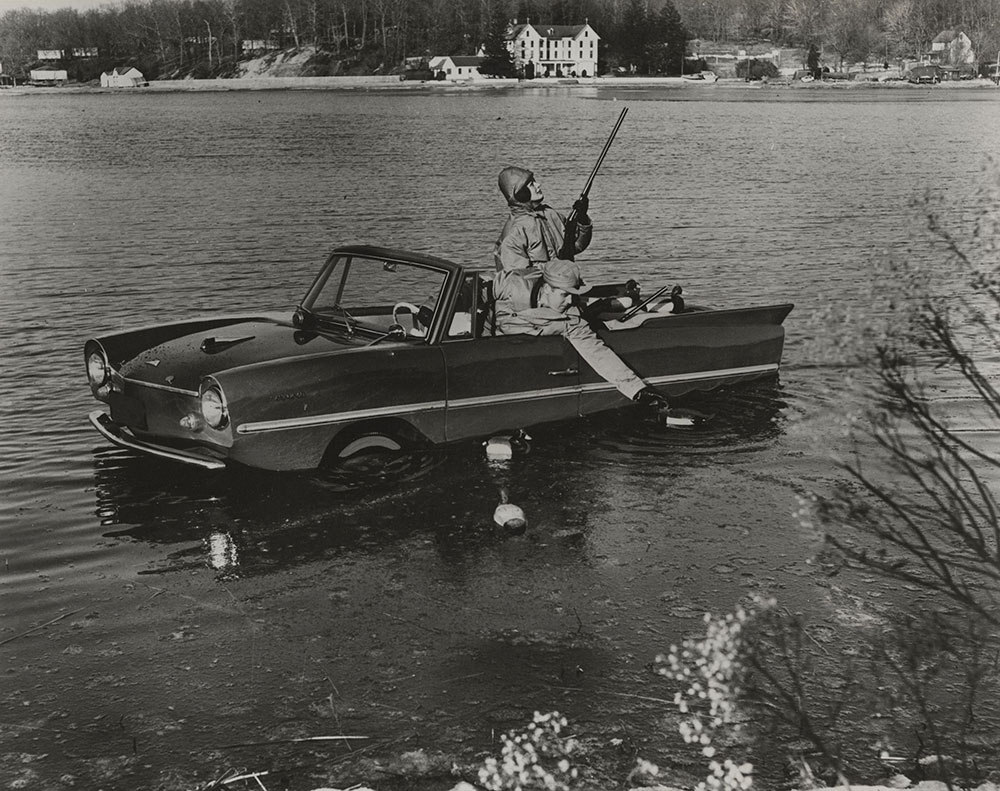 Amphicar 1961 Hunting