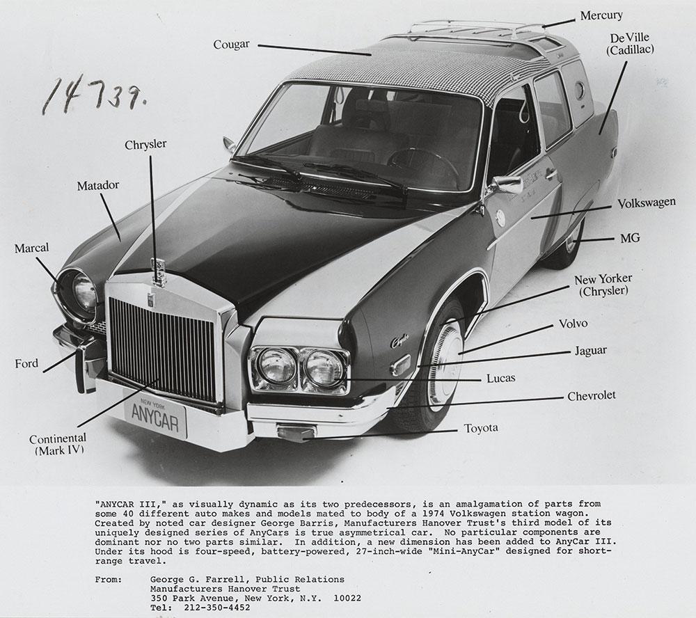 Anycar Parts 1975