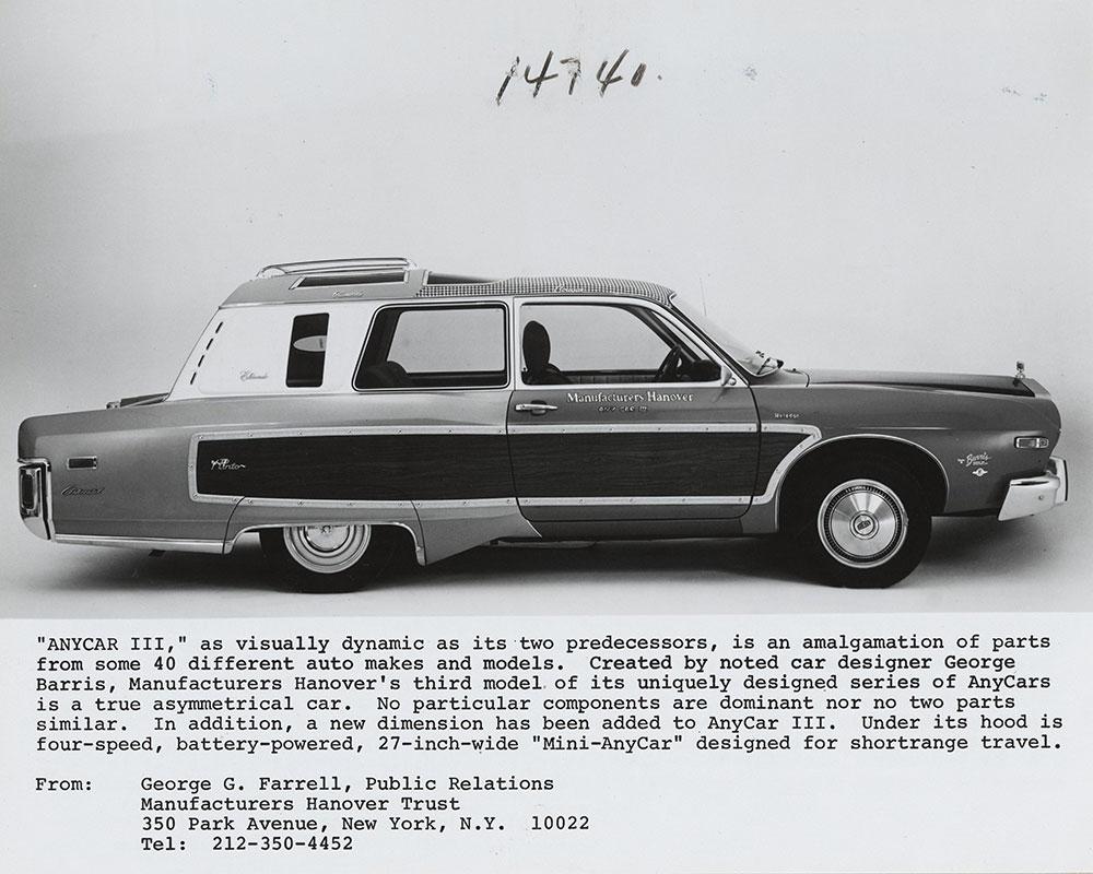 Anycar III 1975 Side View