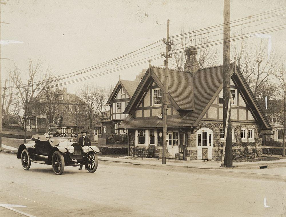 Toll Gate on Old York Road near Philadelphia