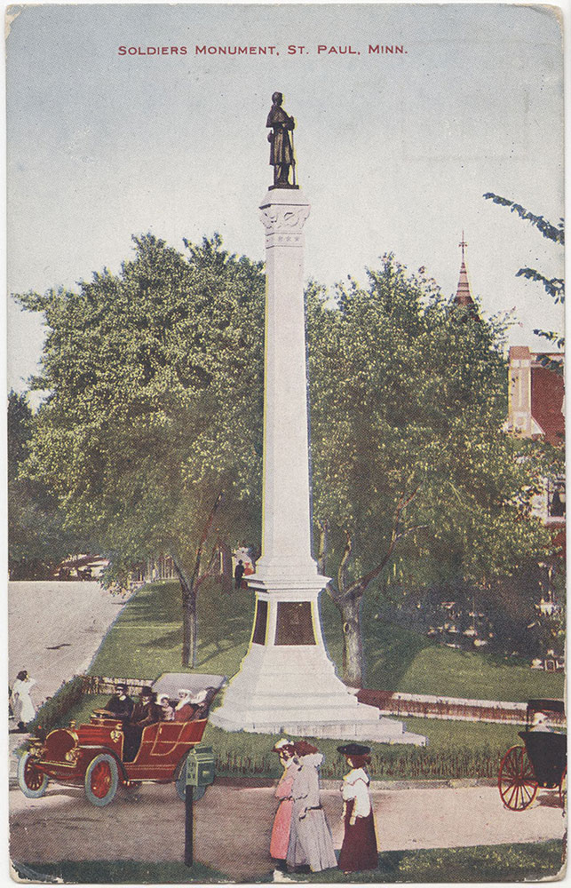 Soldiers Monument, St. Paul, Minnesota