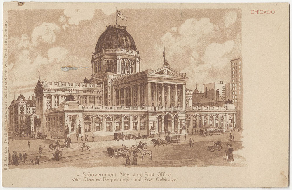 U.S. Government Building and Post Office, Chicago