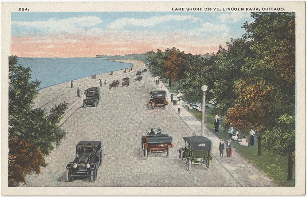 Lake Shore Drive, Lincoln Park, Chicago