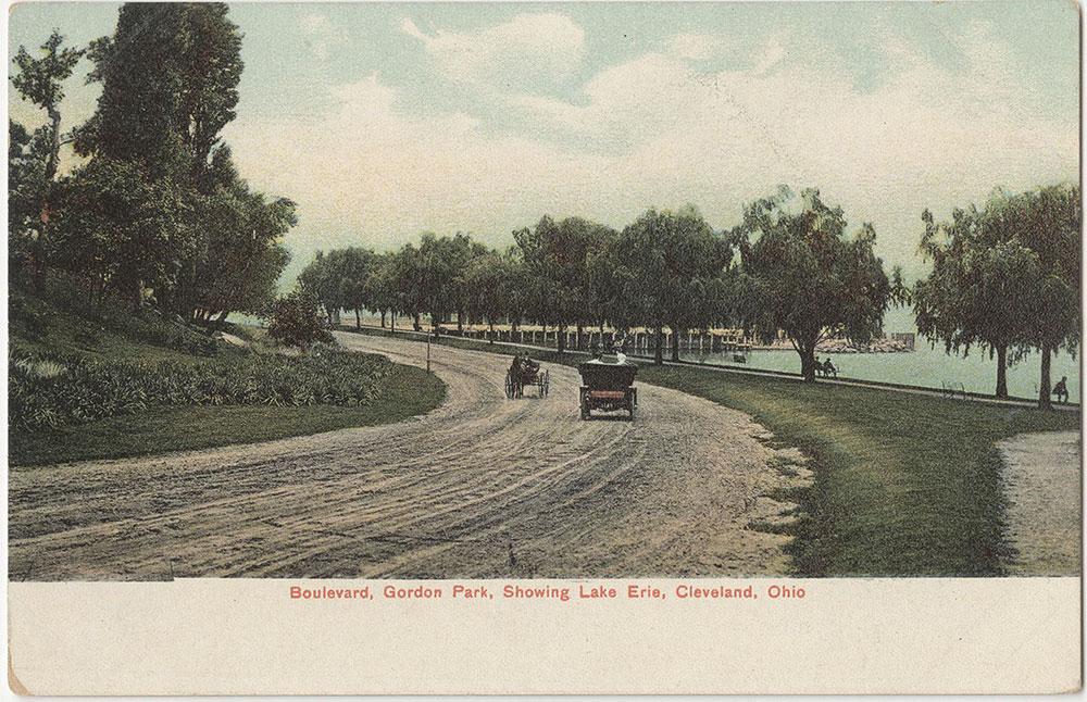 Boulevard, Gordon Park, Showing Lake Erie, Cleveland, Ohio