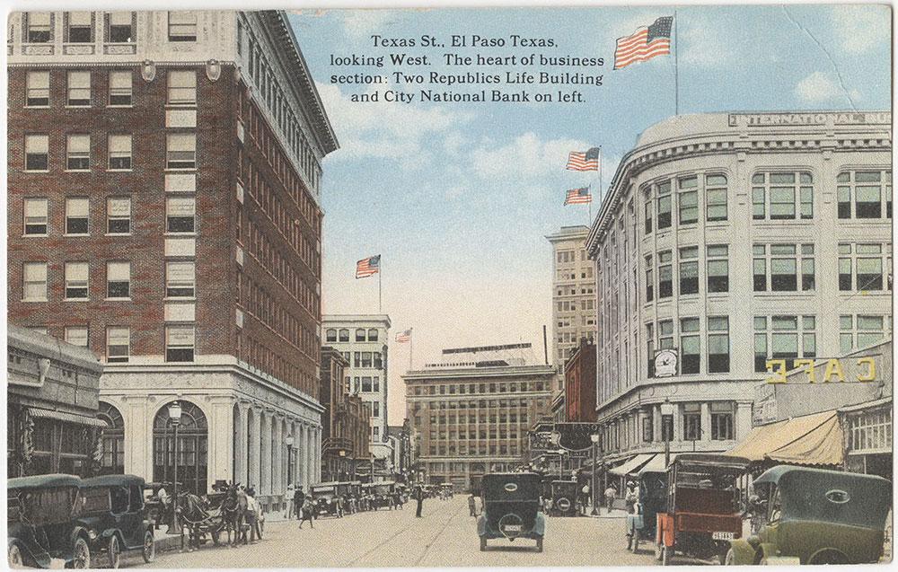 Texas Street, El Paso, Texas (front)