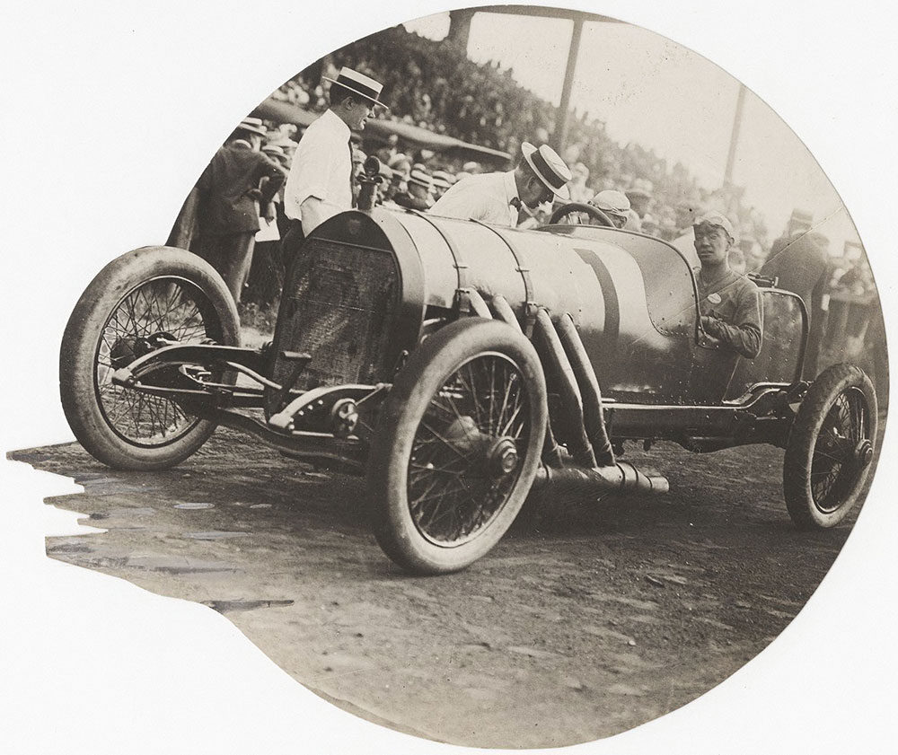 Mercer at Brighton Beach Race Track, Coney Island, NY - Digital Collections  - Free Library