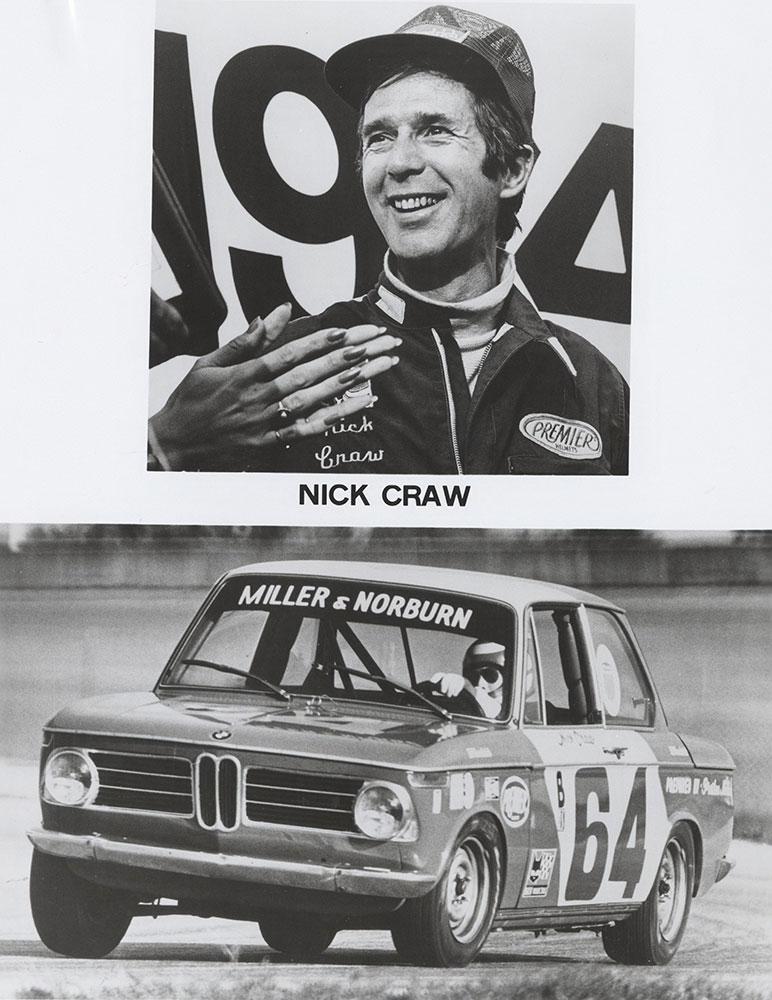 Nick Craw, Goodrich series 1974