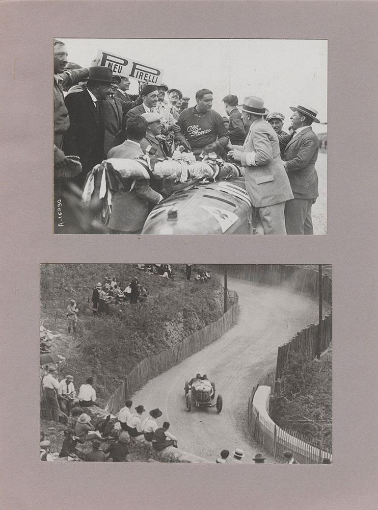 Campari, winner in European Grand Prix, Lyons 1924