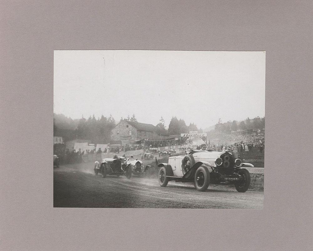 Chrysler, driven by Henri Stoffel, Leading at start of Belgian Grand Prix