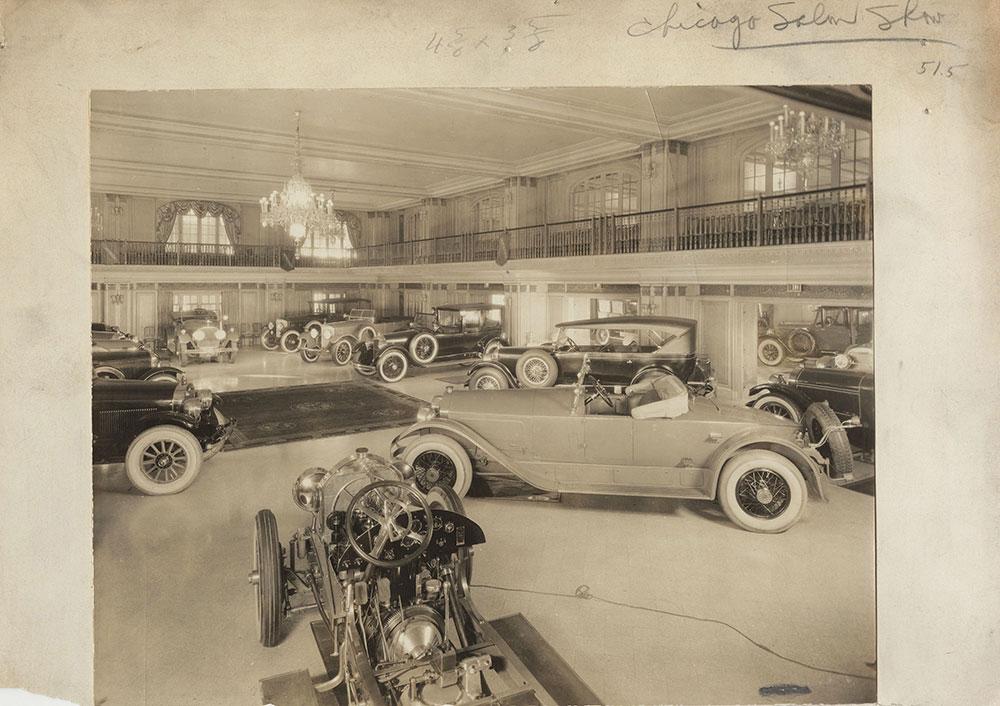 Chicago 1924 Drake Hotel Salon