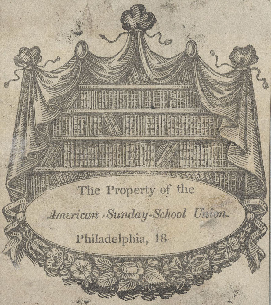 Bookplate of the American Sunday-School Union