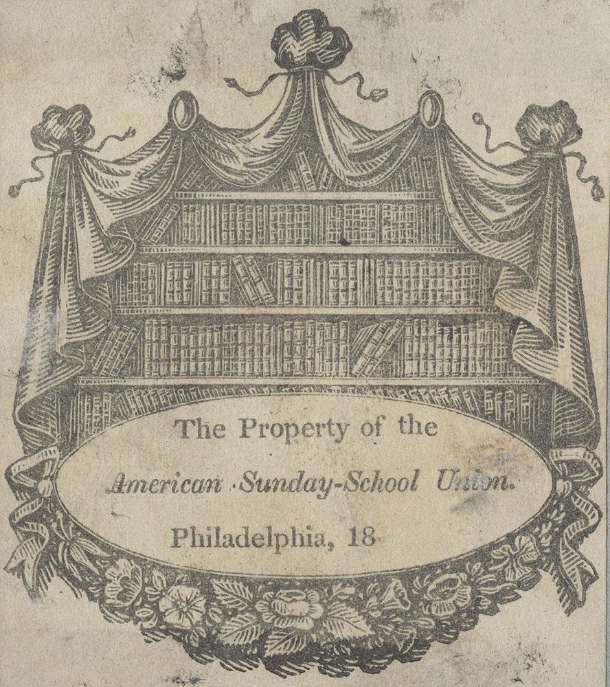 Bookplate of the American Sunday-School Union