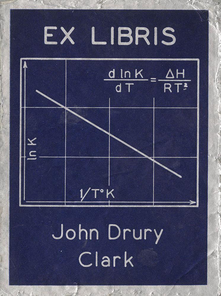 Bookplate for John Drury Clark