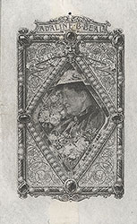 Bookplate for Adaline Beal