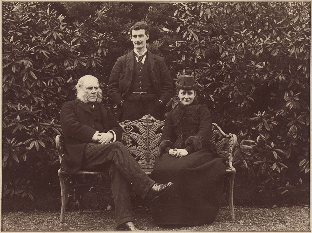 Beatrix Potter and Her Father