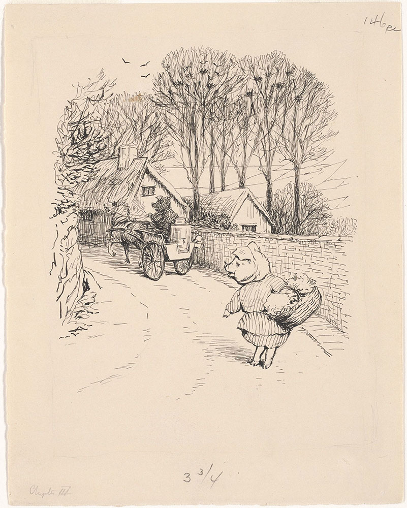 Illustration for The Tale of Little Pig Robinson