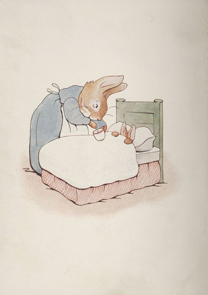 Peter rabbit first edition frontispiece digital collections.