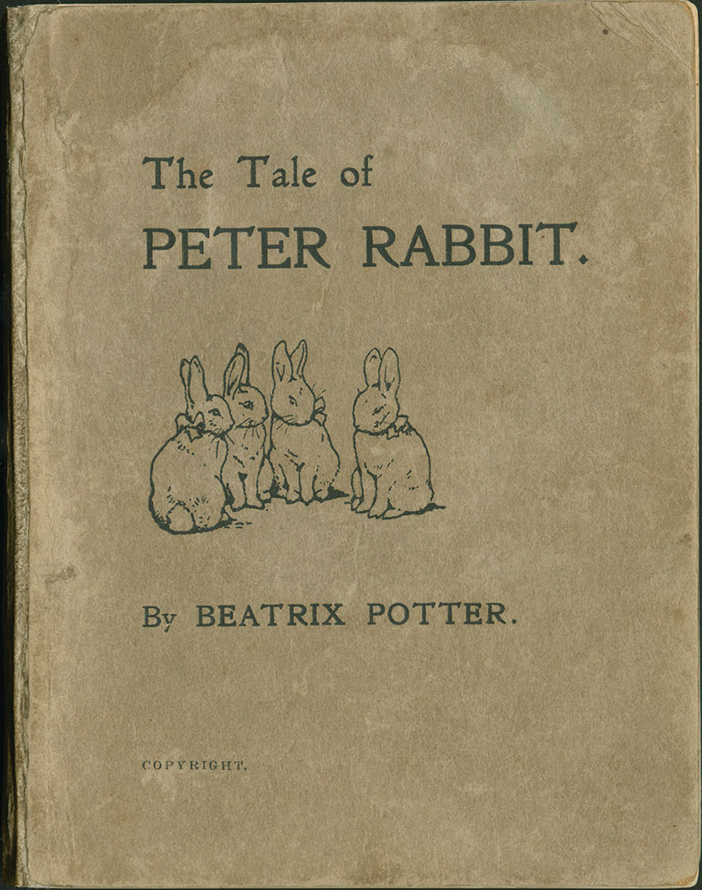 Tale of Peter Rabbit, The - Cover