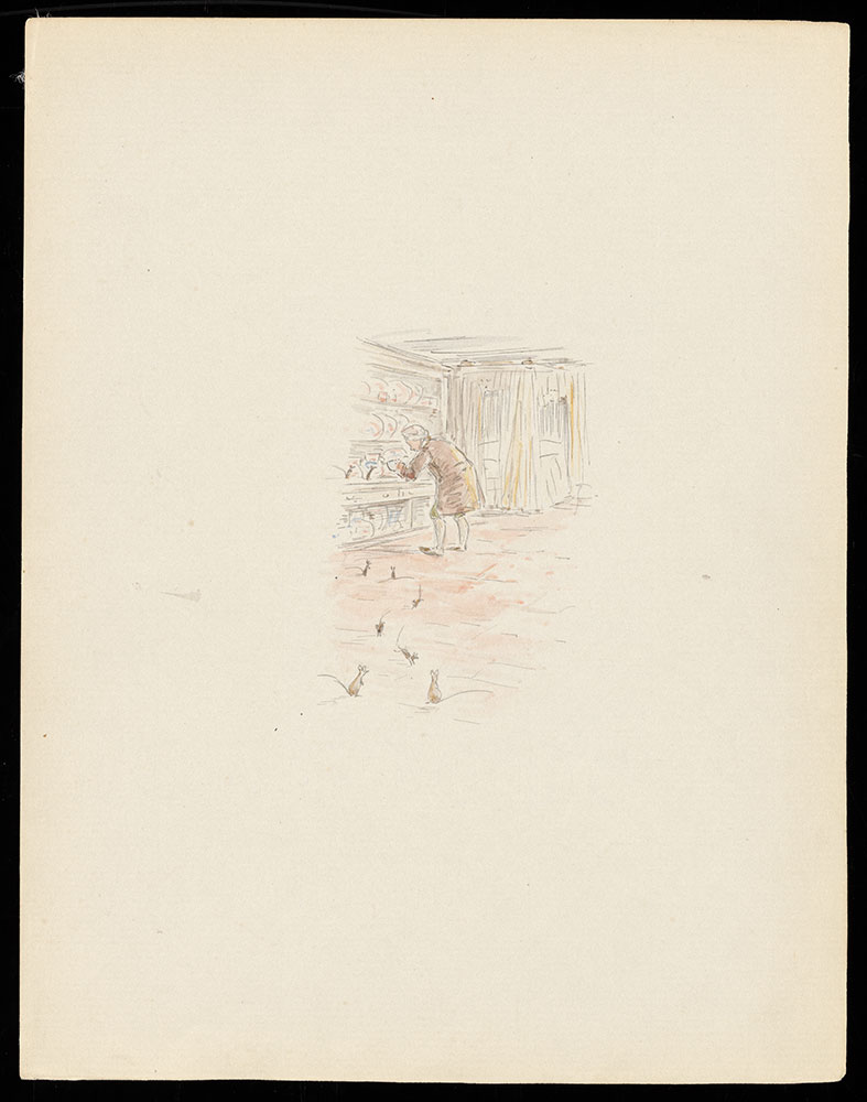 Unpublished original illustration for