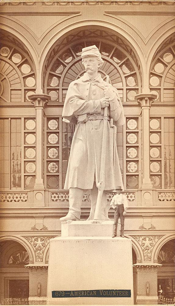 The American volunteer (granite statue)