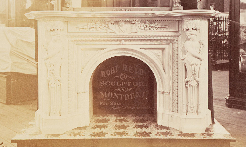 Mantel-Robt. Reid's exhibit