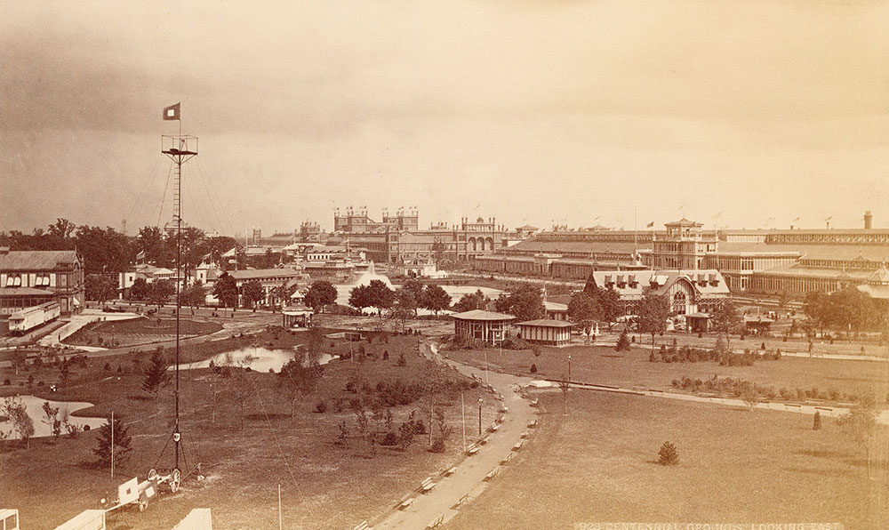 Centennial Grounds, looking East