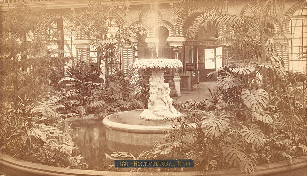 Study in Horticultural Hall-for