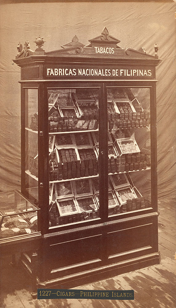Tobacco exhibit from Philippine