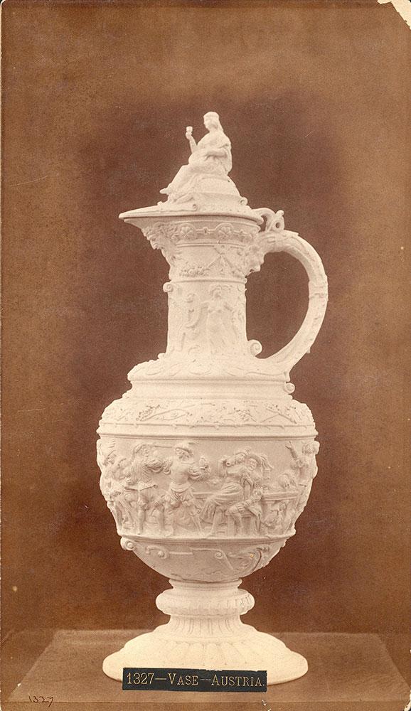 Vase-Austrian section