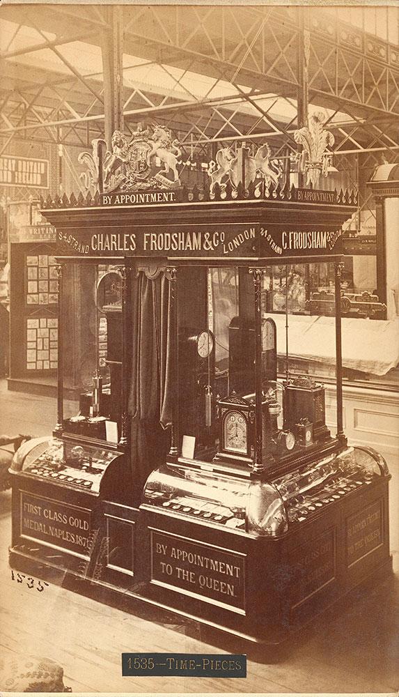 Chas Frodshams' exhibit -- Main Building
