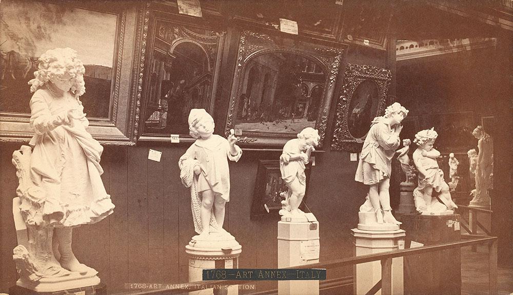 Art Annex--Italian department