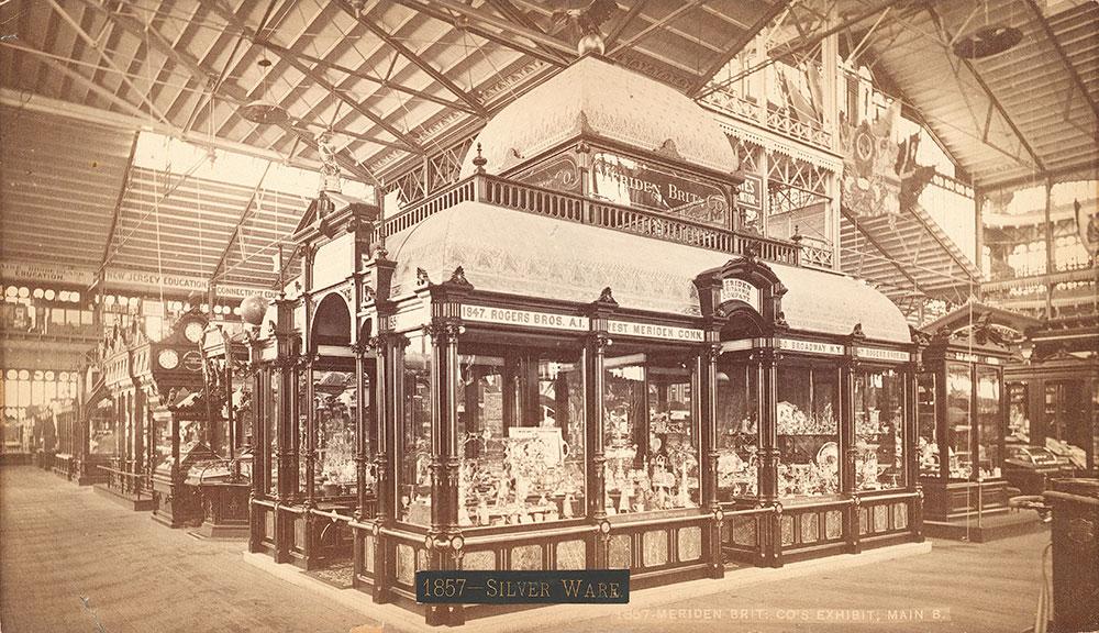 Meriden Britannia Co.'s exhibit--Main Building