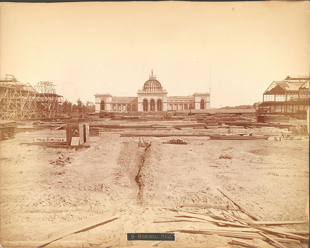 Main Exhibition Building-site of centre transept