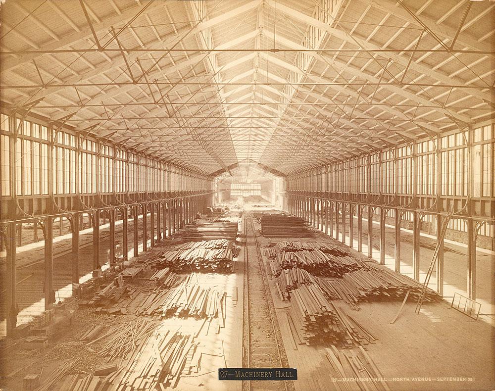 Machinery Hall-North Avenue