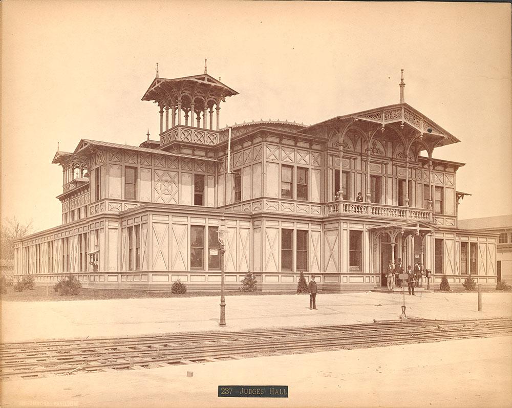 Jurors' Pavilion-interior [sic]