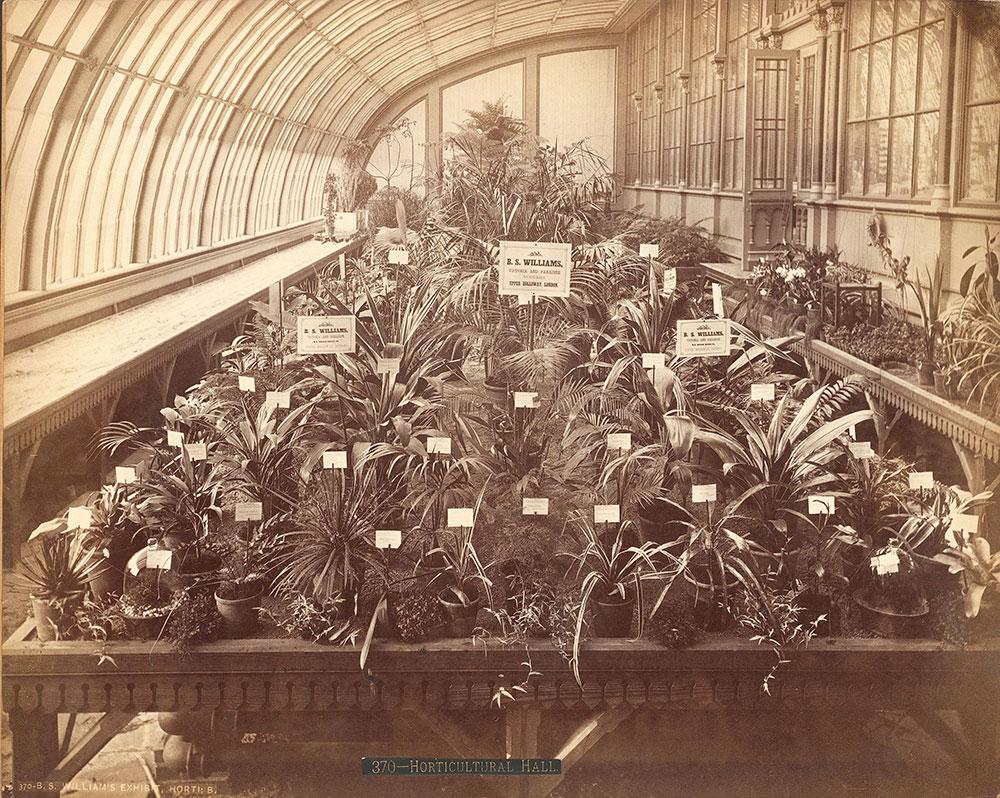 B.S. Williams' exhibit-Horticultural Building