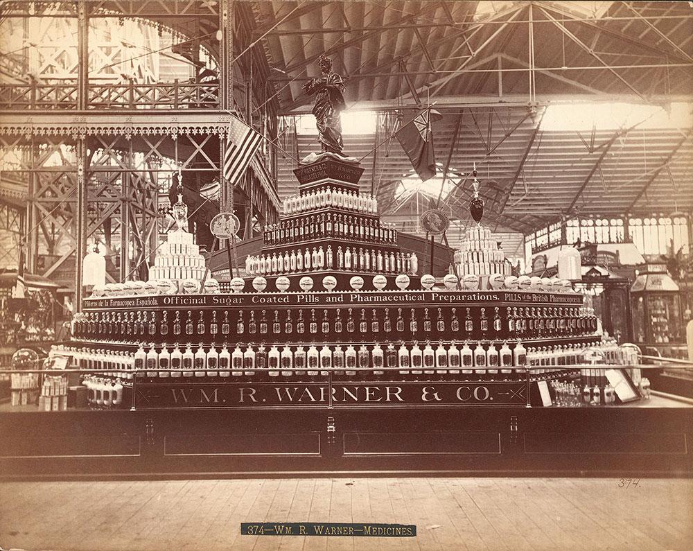 Wm. R. Warner & Co.'s exhibit