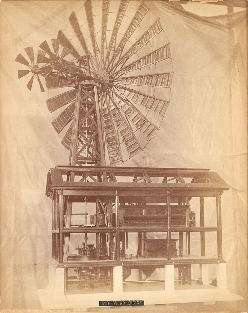 Geo. Canby-models of windmills