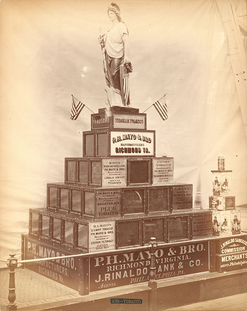 P. Mayo & Bro.'s exhibit-Agricultural Building