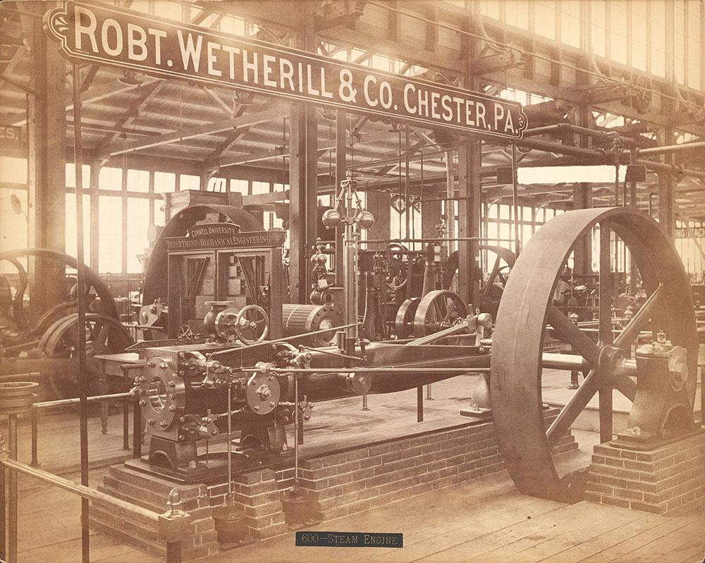 Robert Wetherill & Co.'s exhibit