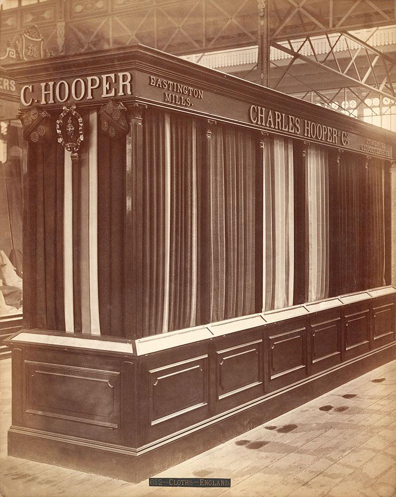 Charles Hooper & Co.'s exhibit-Main Building
