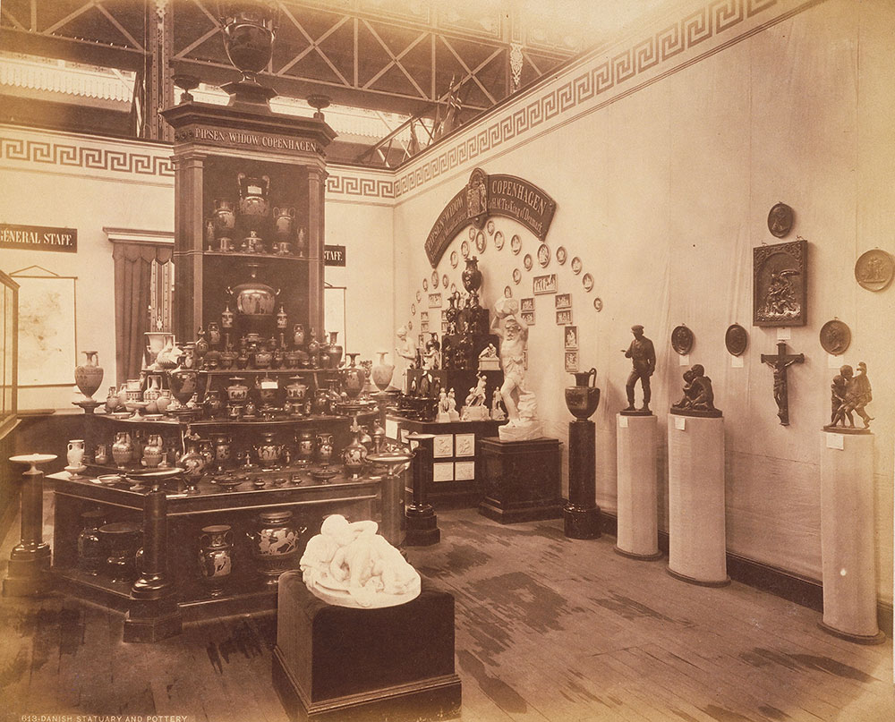 Danish pottery and statuary-Main Building
